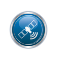 communication satellite icon vector image