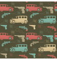 Retro Mobster Crime Pattern vector image