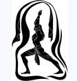 Yoga man vector image vector image