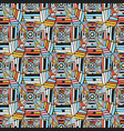 abstract seamless pattern geometric ethnic vector image