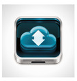 cloud computing xxl icon vector image