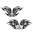 Black bikes tattoos vector image vector image