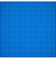 Blue grid paper vector image