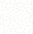 Sesame seeds seamless pattern Packaging vector image