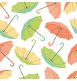 Umbrellas seamless pattern vector image