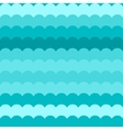 Wave pattern blue abstract waves vector image