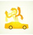 car designer vector image vector image