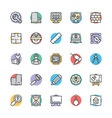 Engineering Cool Icons 1 vector image
