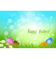 Beautiful Easter Background vector image