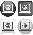 button labtop vector image