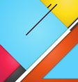 Background modern material design vector image