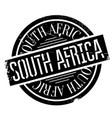 south africa rubber stamp vector image vector image