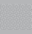 3d pathway pattern vector image