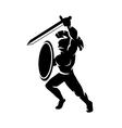 Roman soldier vector image