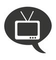 tv old retro icon vector image