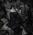 grunge black seamless texture vector image