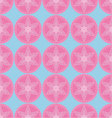 abstract asian floral seamless pattern vector image