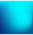 Blue abstract halftone background vector image vector image