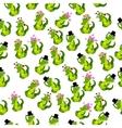 cute crocodile or alligator vector image