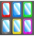 smartphone set vector image