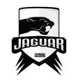 Jaguar logos vintage vector image