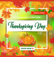 thanksgiving day 15 vector image