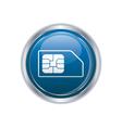 Sim card icon vector image vector image