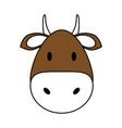 cute bull design vector image