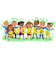 business success people vector image vector image