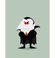 Cartoon Dracula vector image