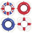 uk life savers vector image