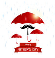 Happy fathers day concept vector image