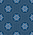 Chinese Japanese seamless pattern vector image