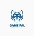 gamer logo vector image