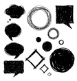 Set of bubles vector image