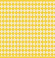 yellow diamonds texture background and abstract vector image
