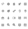 Productivity and Development Icons 1 vector image