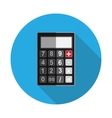 Flat Design Concept Calculator vector image