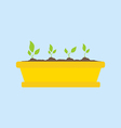 Green Sprout Icon vector image