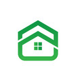 home building icon logo image vector image