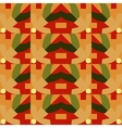 Orange seamless pattern vector image