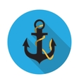 Flat Design Concept Anchor vector image