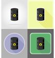 power and energy flat icons 06 vector image