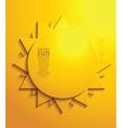 Sun design border vector image