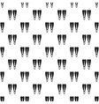 Flippers pattern simple style vector image