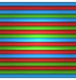 RGB Striped Seamless Pattern Background vector image