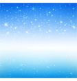 Star night and snow fall bakcground 005 vector image