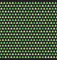 shamrock pattern seamless clover background vector image