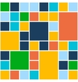 Squares Color Background Template for Flat Design vector image vector image