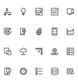 Productivity and Development Icons 7 vector image